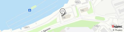 Поморский таможенный пост на карте Архангельска