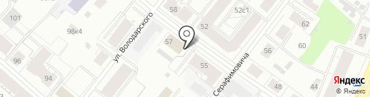 ПРОФЭКСПЕРТ на карте Архангельска