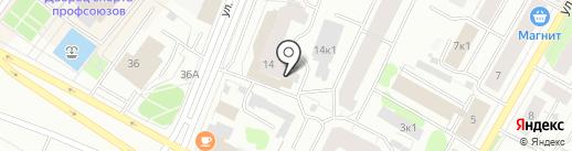 Балтик Гроуп Интернешнл Санкт-Петербург, НО на карте Архангельска