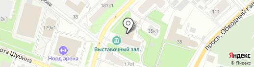 Союз художников России на карте Архангельска