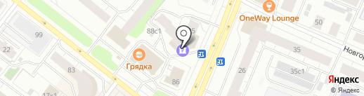 АКБ Авангард, ПАО на карте Архангельска