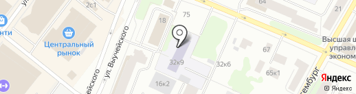 ПрофМебель на карте Архангельска