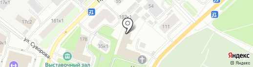 Военная комендатура г. Архангельска на карте Архангельска