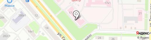 Архангельская областная клиническая больница на карте Архангельска