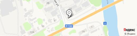 Трак-пластик на карте Боголюбово