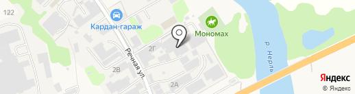 Itravel на карте Боголюбово