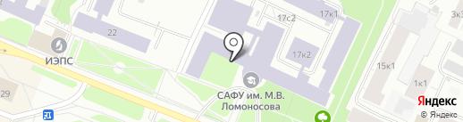 Банкомат, АКБ Российский капитал, ПАО на карте Архангельска