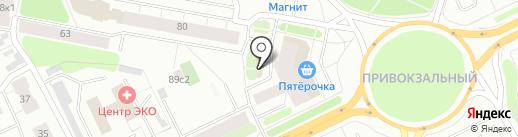 Кулинария на карте Архангельска