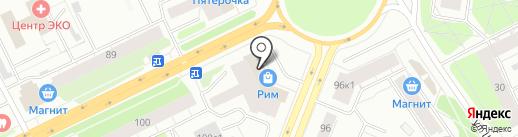 Боттичелли на карте Архангельска
