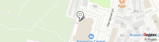 Яки`Да Restaurant Group на карте Архангельска