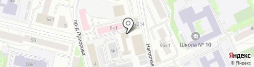 Оптовичок на карте Архангельска