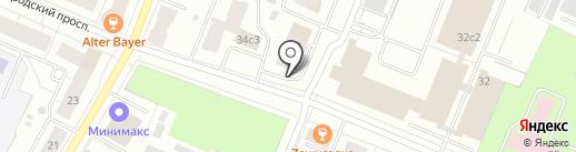 Автопаркинг на карте Архангельска