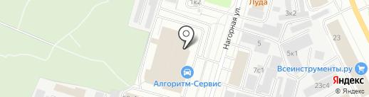 Ферзь на карте Архангельска