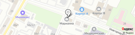 Центр загородного строительства на карте Архангельска