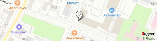 Дорожное радио, FM 103.4 на карте Архангельска