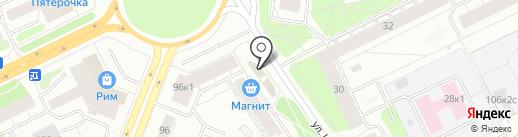 Шкипер на карте Архангельска
