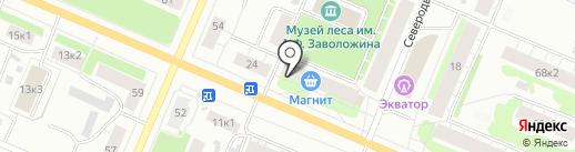 Goodzone на карте Архангельска