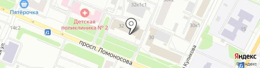 Архангельская медицинская компания на карте Архангельска