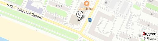 Мой Доктор на карте Архангельска