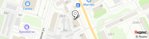 Ликор-НН на карте Архангельска