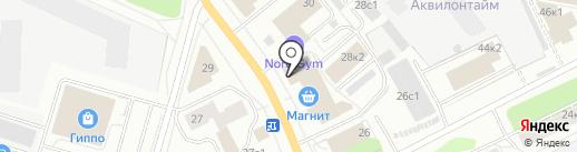 АРТеК на карте Архангельска