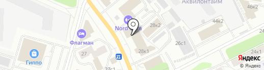 КОМПАНИЯ АРХСНАБ на карте Архангельска