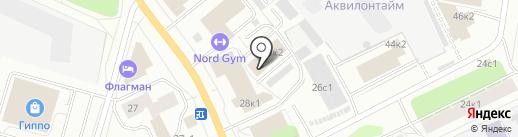 Сфера Вашего здоровья на карте Архангельска