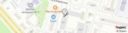 Чипанутые.РФ на карте Архангельска