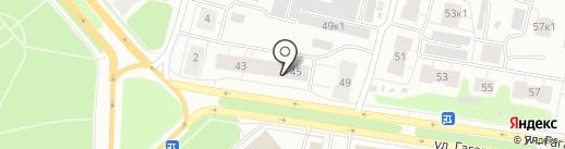Сбербанк, ПАО на карте Архангельска