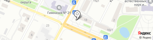 Роспечать на карте Архангельска