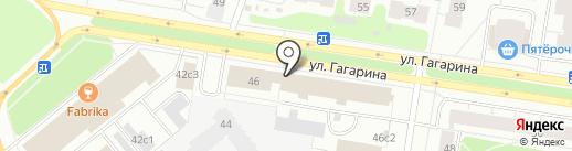 Магазин замков на карте Архангельска