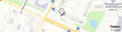 SushiClub на карте Архангельска