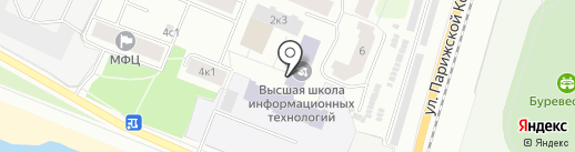 Управление Федеральной антимонопольной службы по Архангельской области на карте Архангельска