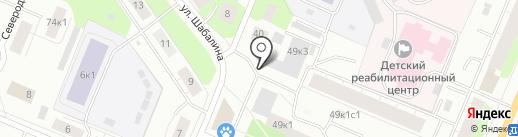BadBar на карте Архангельска