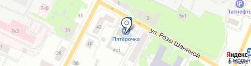 Бэст на карте Архангельска