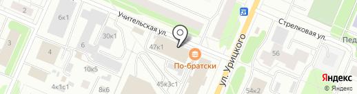 Мама Арни на карте Архангельска