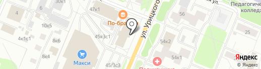 Двина-кадастр на карте Архангельска