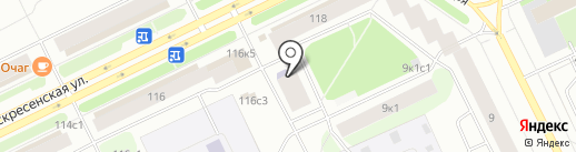 Центр судебных экспертиз, АНО на карте Архангельска