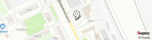 Транс-Сервис на карте Архангельска