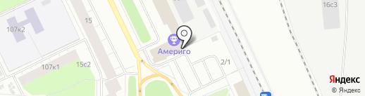 Западно-сибирский Экспресс на карте Архангельска