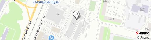 Потолок-29 на карте Архангельска