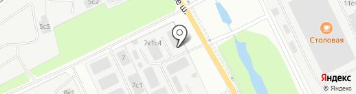 ТОРГОВО-ЗАКУПОЧНАЯ БАЗА на карте Архангельска