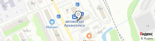 Антикварная лавка на карте Архангельска