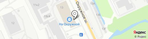 СИЗ на карте Архангельска