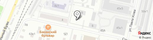 Центр авторазбора для иномарок на карте Архангельска