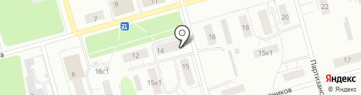 Магазин постельного белья на карте Архангельска