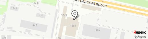 Депо на карте Архангельска
