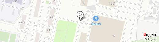 Магазин автозапчастей для УАЗ на карте Архангельска