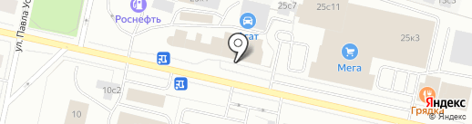 Специализированный магазин замков на карте Архангельска