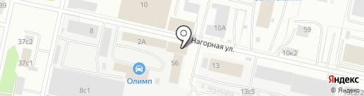 Городской центр гражданской защиты населения на карте Архангельска